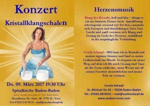 Konzert Kristallklangschalen @ Spitalkirche | Baden-Baden | Baden-Württemberg | Deutschland