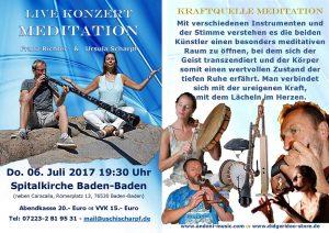 Live Konzert Meditation @ Spitalkirche | Baden-Baden | Baden-Württemberg | Deutschland
