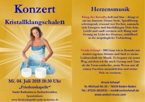 Kristallklangschalen - Meditation Sasbachwalden @ Friedenskapelle, Sankt Katharina | Sasbachwalden | Baden-Württemberg | Deutschland