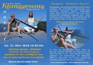 Klanggesang - Konzert @ Abraxas - Ballettsaal | Augsburg | Bayern | Deutschland