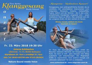 Klanggesang - Konzert @ Unteres Schlösschen | Bobingen | Bayern | Deutschland